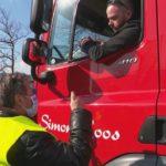 200 camioneros en huelga por un aumento salarial del 3,05 % y mejores condiciones laborales