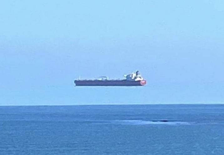 espejismo barco volando 2261493