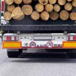 Límites de velocidad?    Esto es lo que significan las pegatinas numéricas del camión.