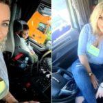 La historia de la joven madre de tres hijos y conductora de camión: «¡Me encanta este trabajo!»