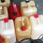 La policía sorprende en flagrante delito, a dos hombres por el robo de 190 litros de combustible de camiones en Águeda