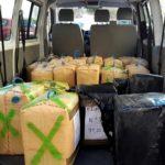 Camionero sorprendido con droga de 8,3 millones de € en el camión, cuando regresaba de España