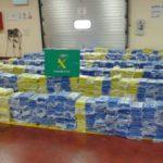 Secuestran a un camionero que creía transportar zumo de piña y en realidad llevaba 1.861 kilos de cocaína