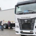 Kamaz  presenta el 54901 con Intelligent Trailer  para simplificar la vida del conductor