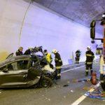 Declaran culpable a un camionero de 35 años, de la muerte en accidente de una familia en el túnel de Großliedl