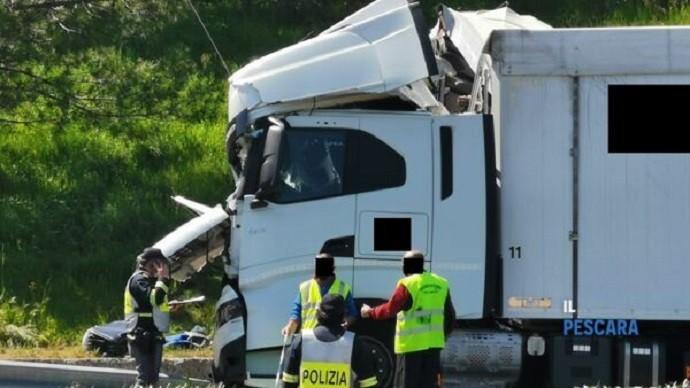 Incidente mortale A25 venerdi 30 aprile 2021 3 2