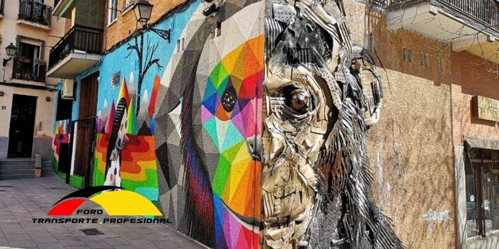 La mejor ruta de arte urbano en Madrid