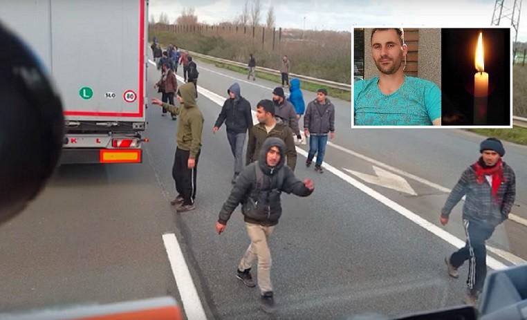 camionero vs inmigrantes calais 1 1