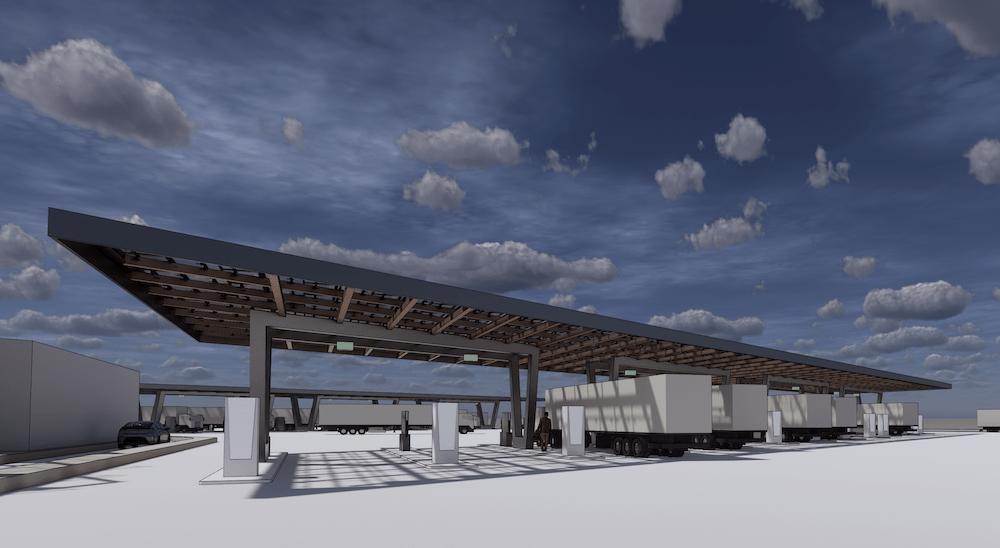 heavy duty charging canopies 2