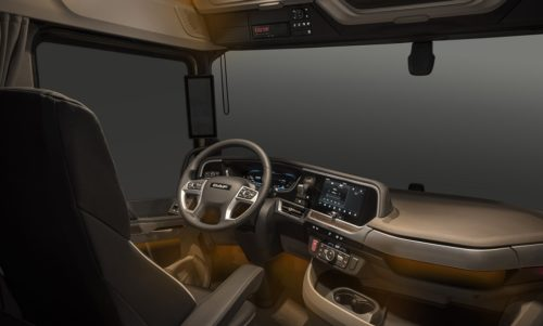 Ambiant lights for homely feeling in New Generation DAF trucks