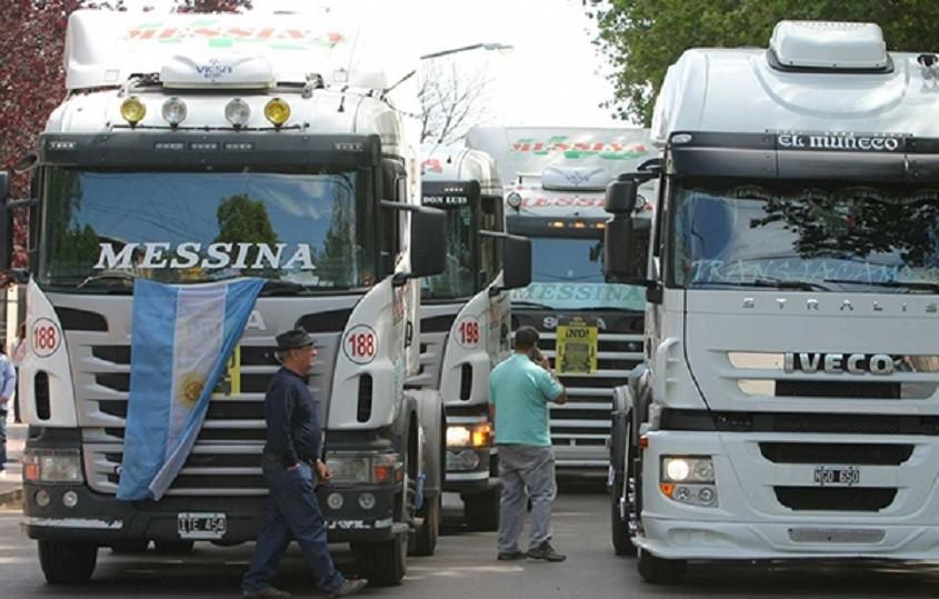 para de camioneros