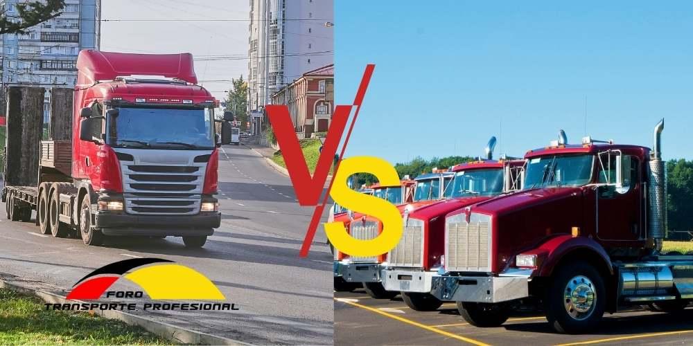Camiones eléctricos vs Diesel
