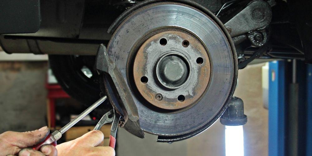 frenos de disco del coche