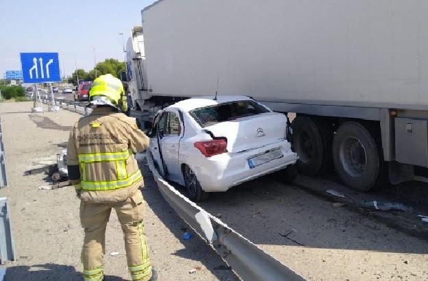 imagen del accidente de la a 2