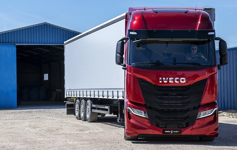 lanzamiento nuevo camion iveco s way