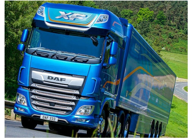 001 DAF XF crowned Fleet Truck of the Year 2020 Instagram