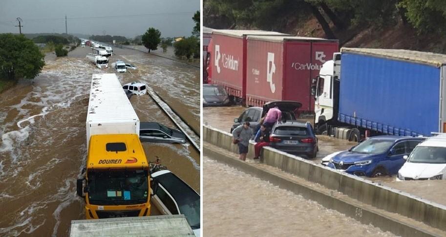 A9 inondations