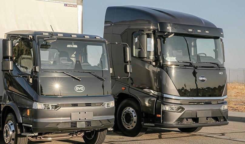 BYD Trucks 123