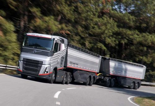 Volvo Efficiency Concept Truck 1